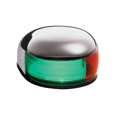 Bi Color Light Teardrop Red Green Stainless Steel Marpac 24100-D