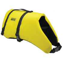 Dog Life Vest Jacket Yellow / Black Large 50 To 90 Lbs Seachoice 86340