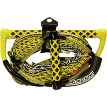 Wakeboard Rope 75' 5 Section (5', 55', 5', 5', 5') With Handle Seachoice 86801